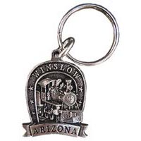 Winslow Locomotive Key Chain