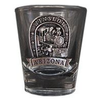 Winslow Locomotive Shot Glass