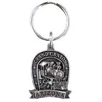 Grand Canyon Locomotive Key Chain