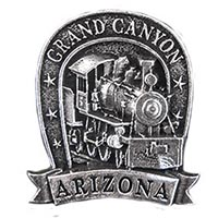 Grand Canyon Locomotive Hat Pin