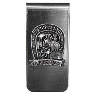 Grand Canyon Locomotive Money Clip