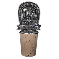 Kingman Locomotive Bottle Stopper