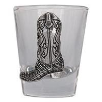 Crocodile Cowboy Boot Shot Glass
