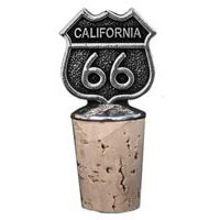 California, RT66 Bottle Stopper