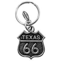 Texas, RT66 Key Chain
