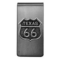 Texas, RT66 Money Clip