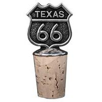 Texas, RT66 Bottle Stopper