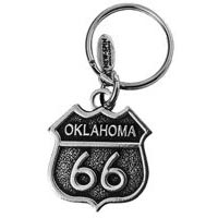 Oklahoma, RT66 Key Chain