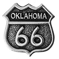 Oklahoma, RT66 Pin