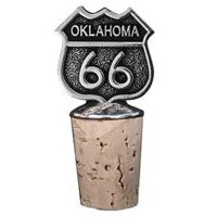 Oklahoma, RT66 Bottle Stopper