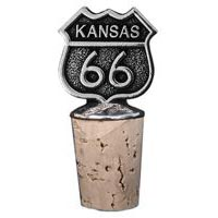Kansas, RT66 Bottle Stopper