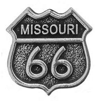 Missouri, RT66 Magnet