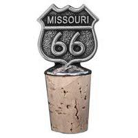 Missouri, RT66 Bottle Stopper
