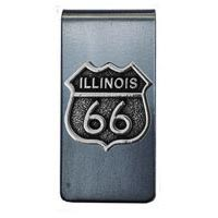 Illinois, RT66 Money Clip