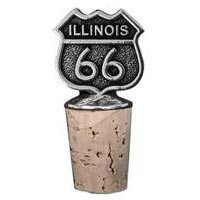 Illinois, RT66 Bottle Stopper