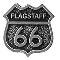 Flagstaff RT66 Hat Pin