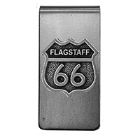 Flagstaff RT66 Money Clip