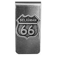Seligman RT66 Money Clip