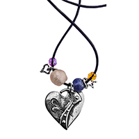 Whimsical Heart Pendants 1