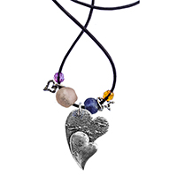 Whimsical Heart Pendants 6