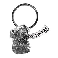 Rottweiler Mini Key Chain