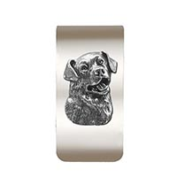 Rottweiler Money Clip