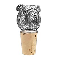 Bulldog Bottle Stopper