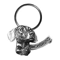 Dachshund Large Key Chain