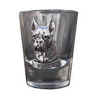 Boxer Shot Glass