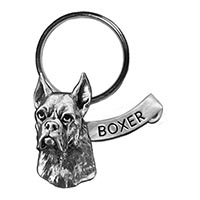 Boxer Large Key Chain