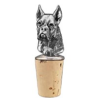 Boxer Bottle Stopper