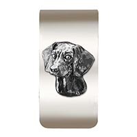 Beagle Money Clip