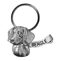 Beagle Large Key Chain