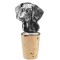 Beagle Bottle Stopper