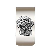 Retriever Money Clip