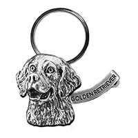 Retriever Large Key Chain