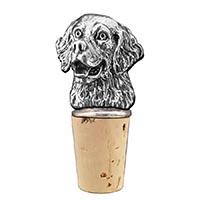 Retriever Bottle Stopper